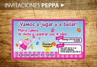 Cumpleaños Peppa