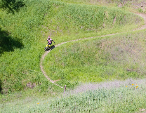 Switchbacks on Green Valley Trail