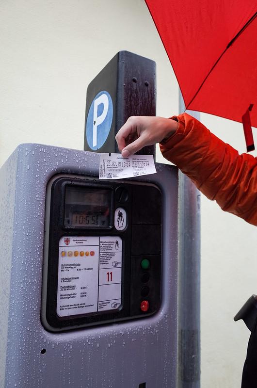 停車繳費機及票券