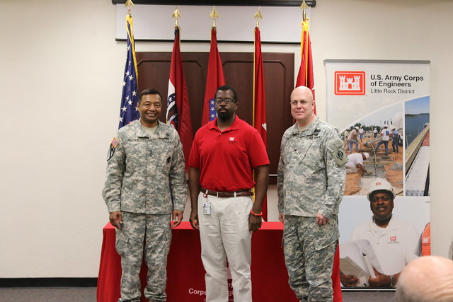 Lt. Gen. Thomas Bostick visits USACE Little Rock