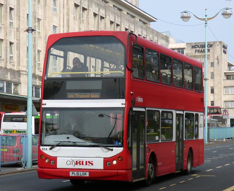 Plymouth Citybus 414 PL51LGK