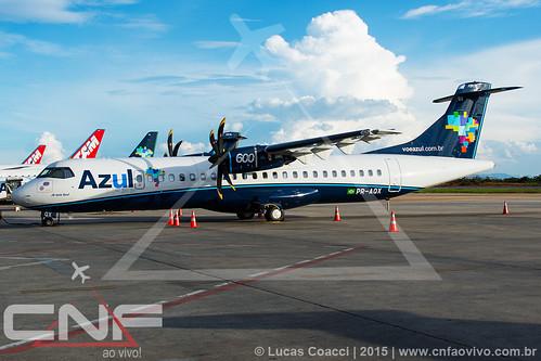 ATR72-600 Azul Linhas Aéreas PR-AQX