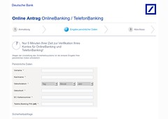 Deutsche-Bank-Phishing: Datenstriptease