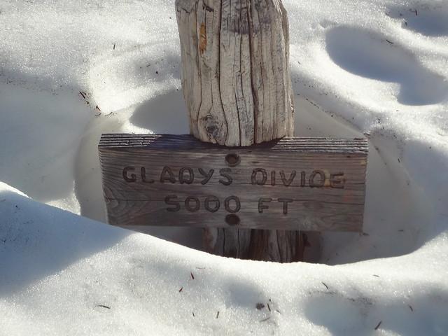 Glady's Divide