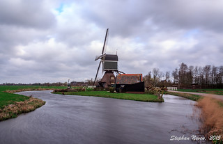 Storm in the polder