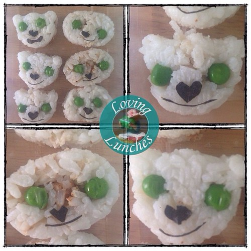 Loving these little #Neverbeast #sushi bites… happy with how they turned out, what do you think? #Tinkerbell #funwithfood #funfood