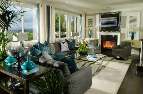 Stunning-contemporary-living-room-with-exquisite-use-of-turquoise-accents