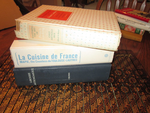 FOL Sale Day 1 - French Cookbooks