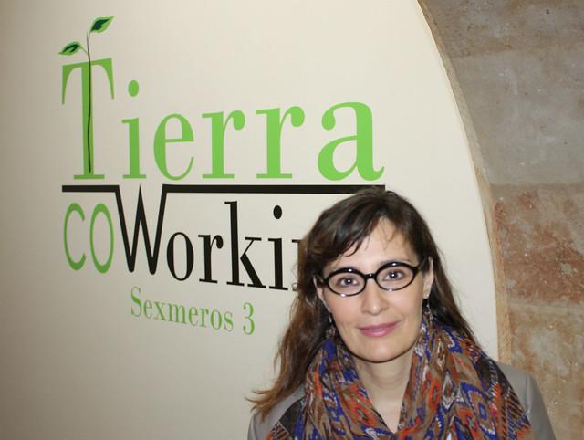Maite Pérez, fundadora de una agencia de viajes online especializada en rutas por Salamanca