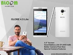 Bloom Mobiles GLOBE 4.5 Lite With Ajay Devgan Brand Ambassador