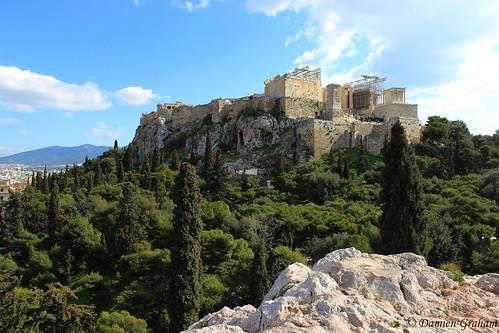 hill athens greece acropolis grèce acropole athènes areopagus areopagos