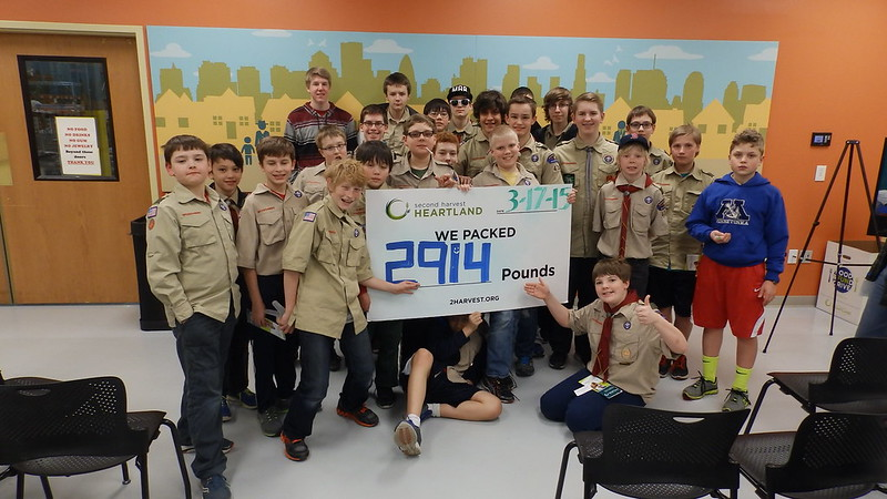 Boy Scout Troop 3430 3-17-15