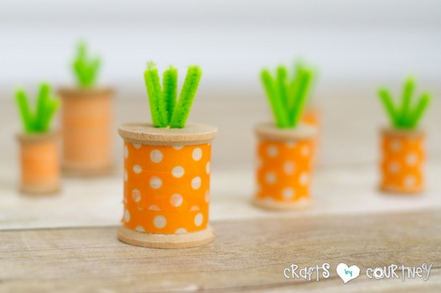 washi tape carrots