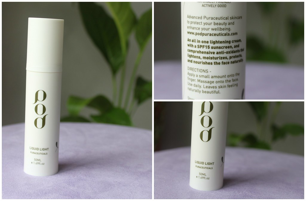 Pod liquid light pharmaceuticals face skin care priceline australian beauty review ausbeautyreview blog blogger honest lotion cream light sunscreen