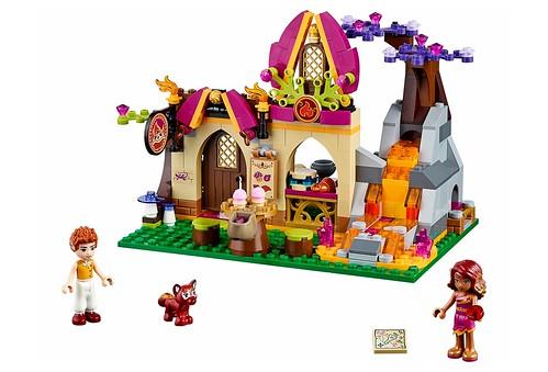 LEGO Elves 41074 Azari and the Magical Bakery 00