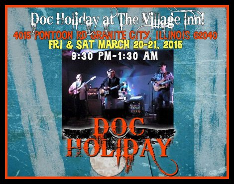 Doc Holiday 3-20, 3-21-15