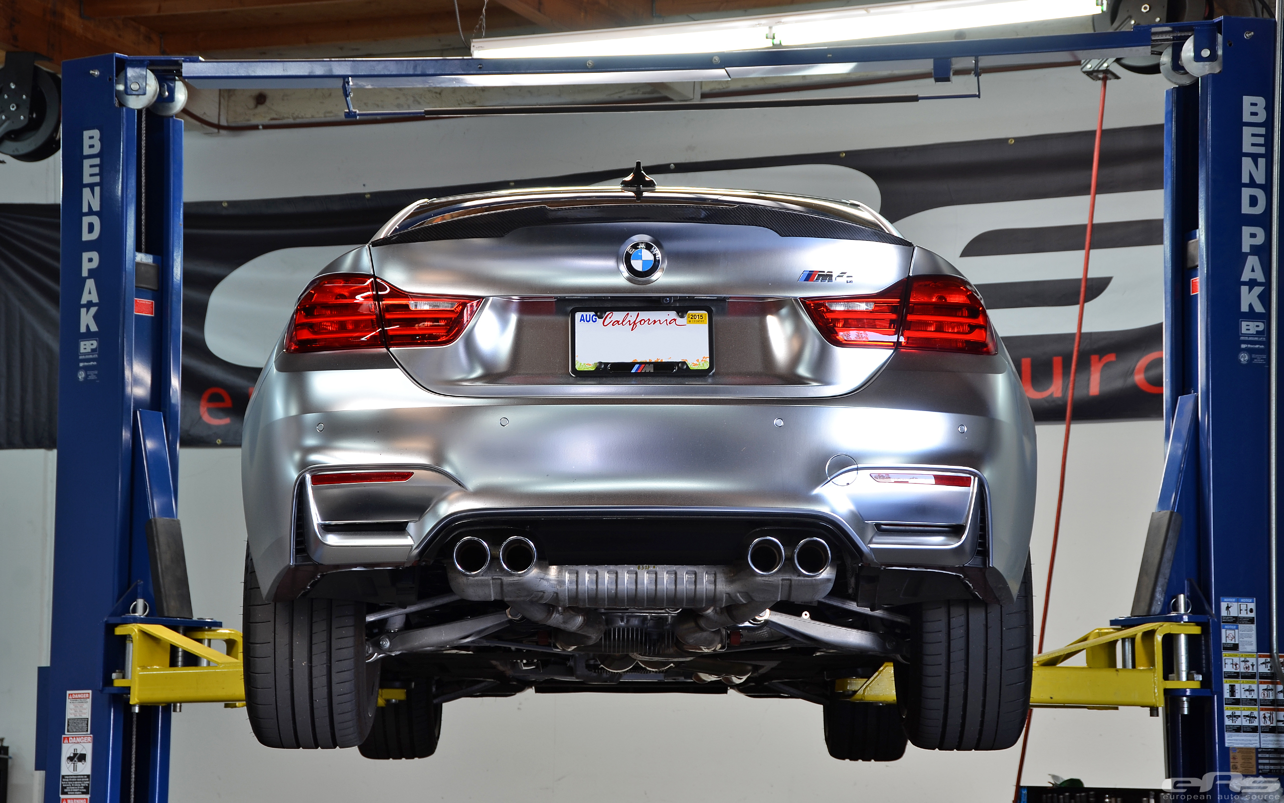 Car Source: Frozen Chrome M4 Gets A Full Akrapovic Exhaust
