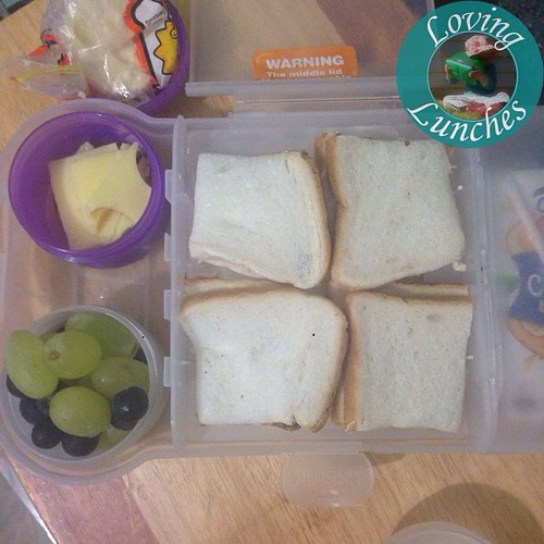 Loving last night's 'I've got a migraine' lunch… simple cross with basic trimmings 😎😴