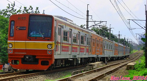 Commuter line to Tanah abang