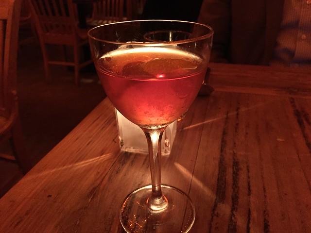 Felix Leiter's Proposal cocktail - Foreign Cinema