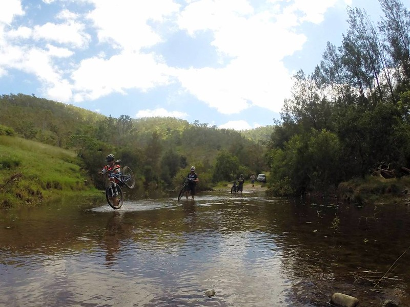 Crossing Monsildale Creek