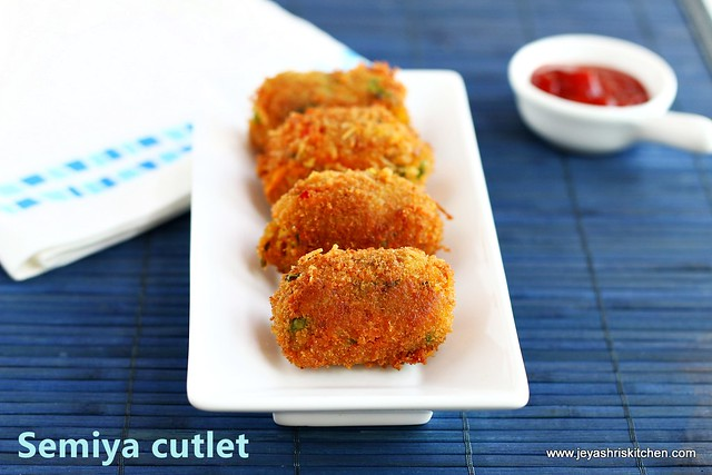 Vegetable-cutlet