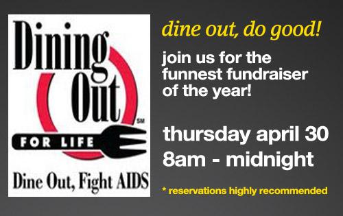 dine out - do good!