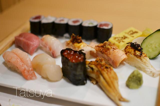 Sushi Lunch Set, Tatsuya