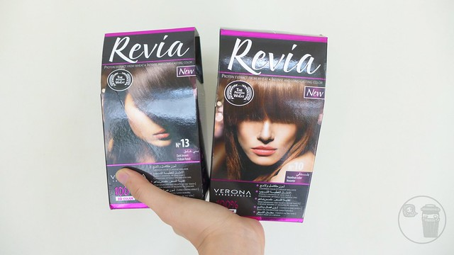 review on revia hair dye by verona