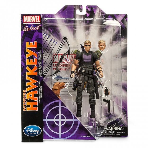 Marvel Select【鷹眼】Hawkeye 迪士尼商店限定 Lucky 乖!快點來吃比薩!!
