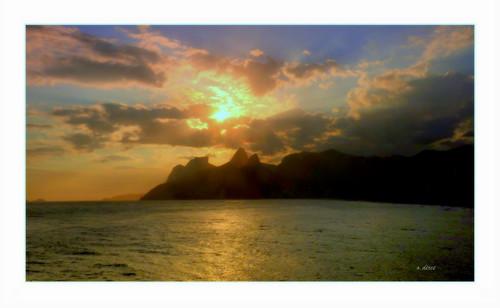 Sunset no Arpoador .