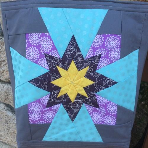 Velvet Star Block