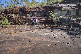 Crab Orchard sandstone quarry, Rhea County, Tennessee