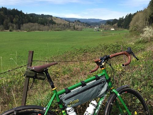 Scappoose to Buxton on dirt-4