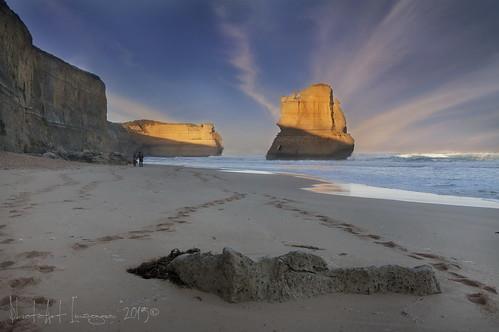 beach sunrise australia victoria greatoceanroad 12apostles gibsonsbeach limestonestacks photoartimages