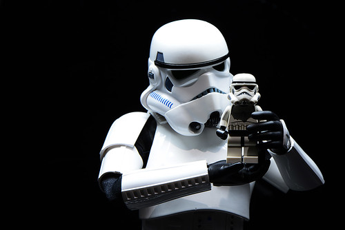 136. When Stormtrooper learns to play Lego Stormie