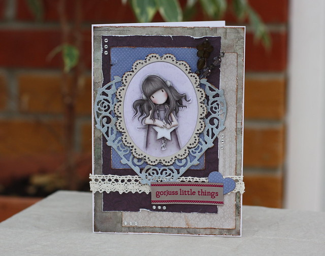 Gorjuss shabby chic card by StickerKitten