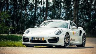 João Paulo Almeida  e  Paulo Gomes  -  Porsche 911  -  Rampa Sprint Espinhal 2015