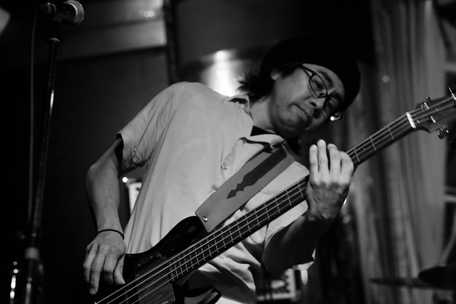 Los Blues Perfunos live at Powers 2, Kawasaki, 04 Apr 2015. 094