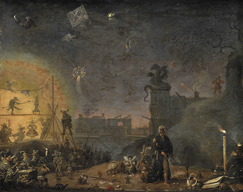 Cornelis Saftleven - The Vision of the Sunday Child, 1660