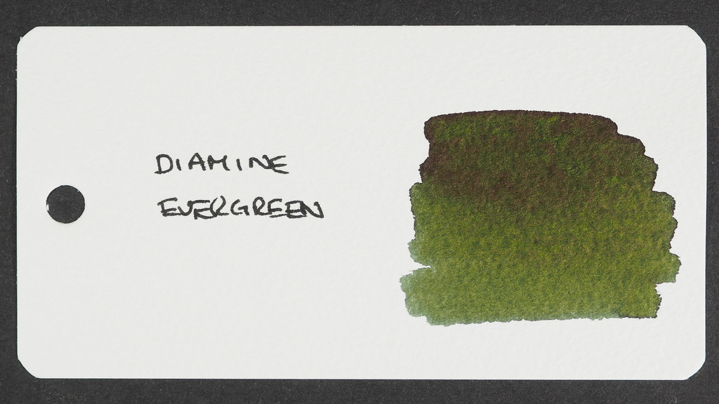 Diamine Evergreen Reference