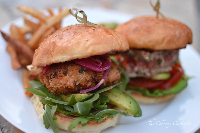 Seafood Burgers