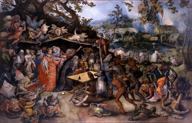 Jan_Brueghel The Elder - The Temptation of Saint Anthony