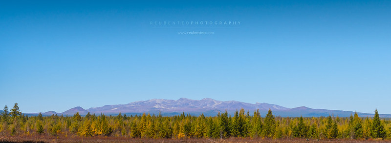 Mount Paektu at Samjiyon