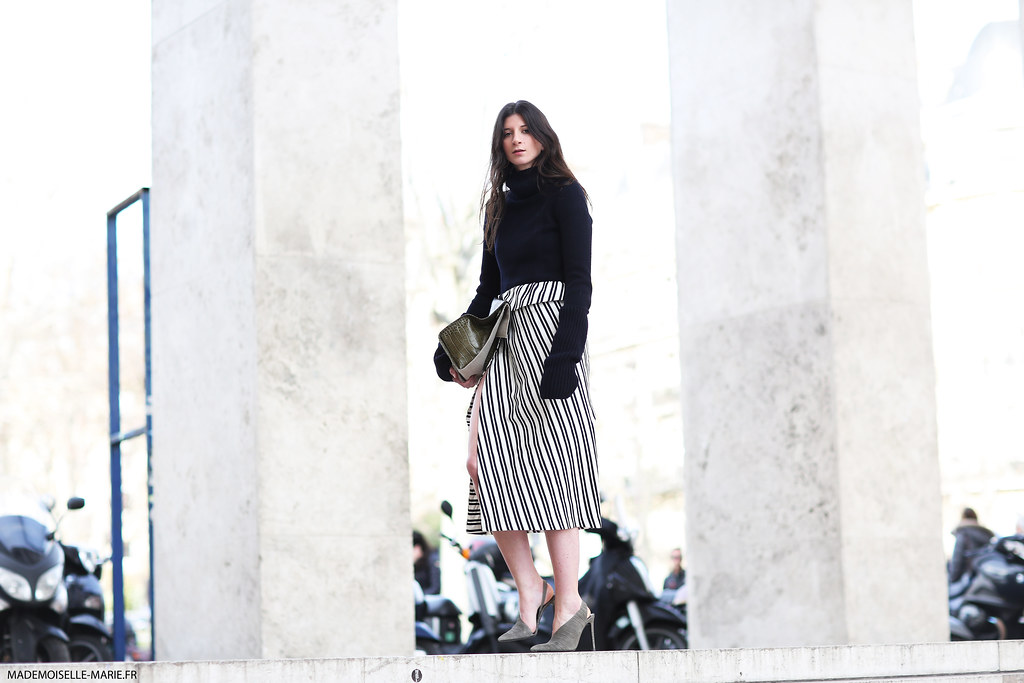 Laberiane Ponton at Paris Fashion Week