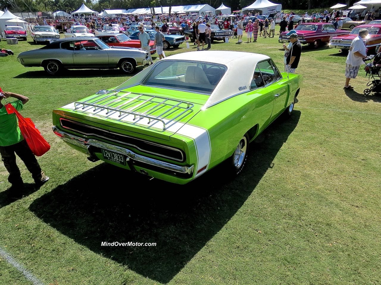 1970 Dodge Charger R:T Rear Angle 1