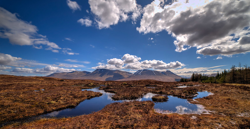 Best Hikes in Europe: Rannoch Moor Hills, West Highland Way