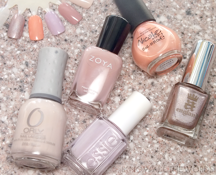 the fast five- pretty polish picks for spring (1)
