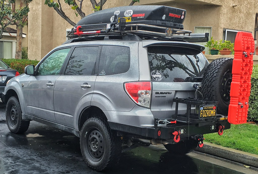 subaru forester rear front bumper build pics american adventurist. Black Bedroom Furniture Sets. Home Design Ideas