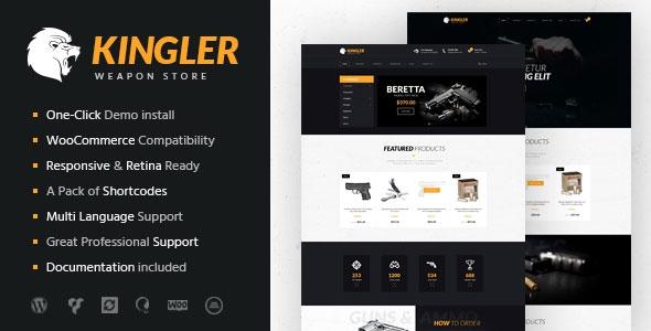 Kingler v1.0 - Weapon Store & Gun Training Theme